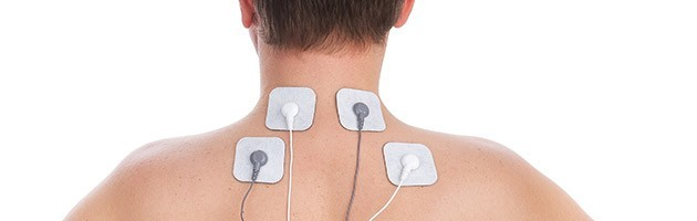 electric muscle stimulation on neck pain
